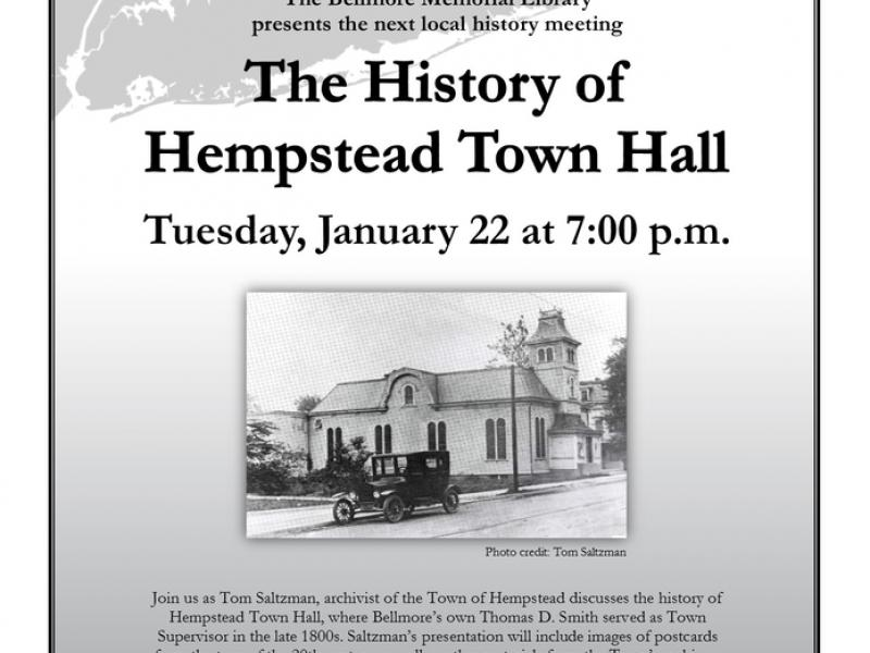History of Hempstead Town Hall Presentation at Bellmore