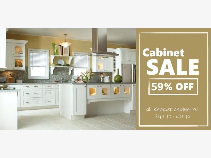 59% Off Cabinetry