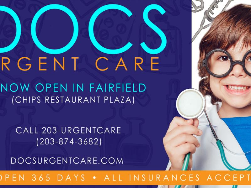 docs urgent care center opens in fairfield ct