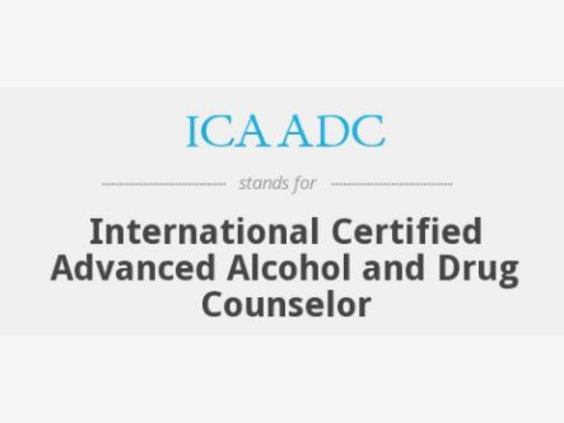 Linda Ziac Awarded International Certified Advanced Alcohol And Drug