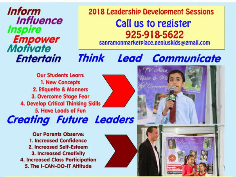 Public Speaking Leadership sessions - Starting June 16th