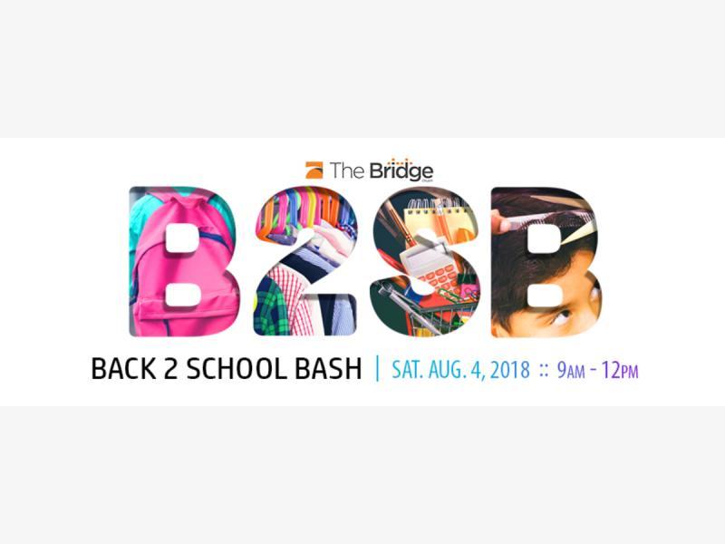 The Bridge Church Presents Back To School Bash 2018