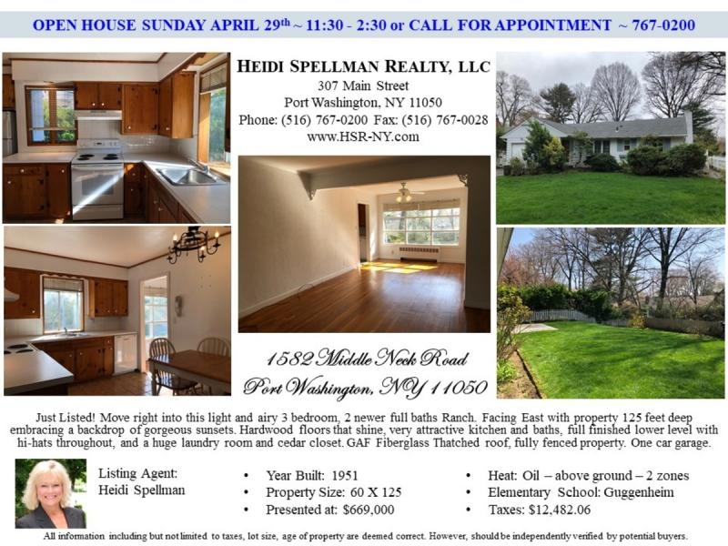 just listed open house this weekend sunday april 29th 11 30