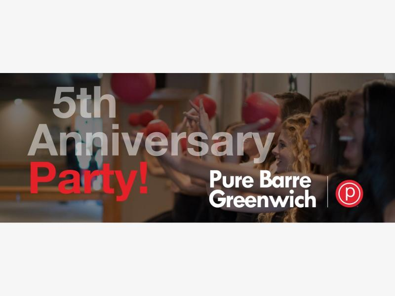 Pure Barre Greenwich Celebrates 5 Years With Free Classes For