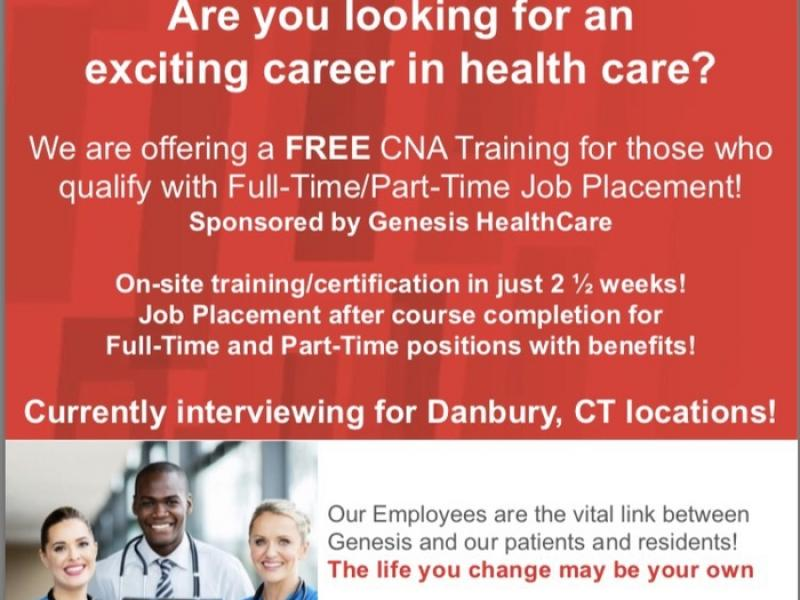 Become A Cna In Just 2 12 Weeks With Job Placement Danbury