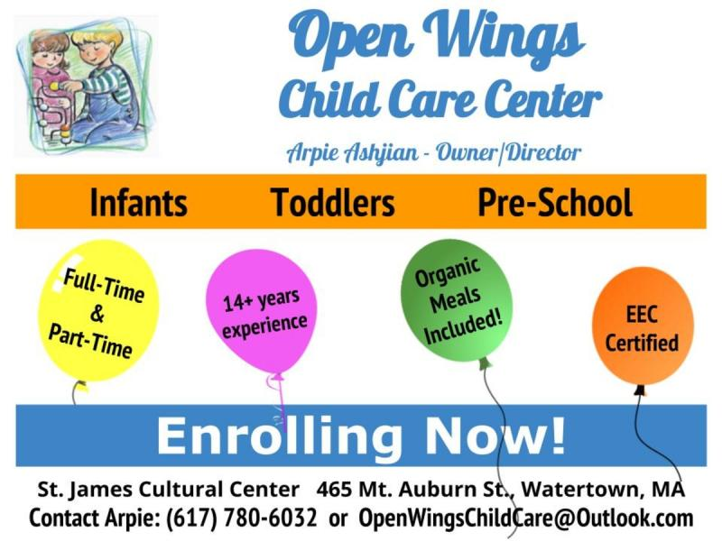 Enrolling Now - Watertown, MA Patch
