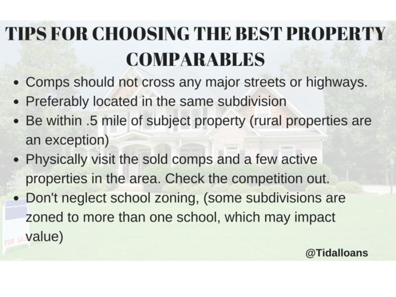 Top 7 TIPS FOR CHOOSING THE BEST PROPERTY MLS COMPS