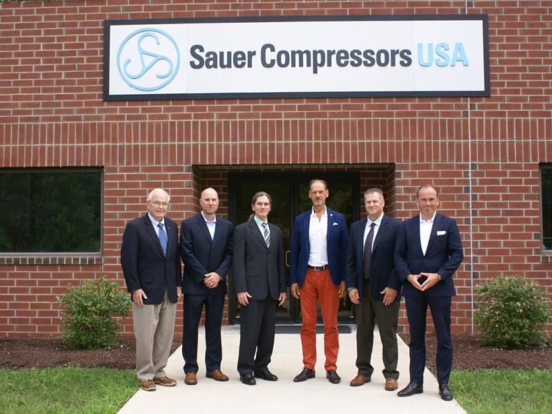 Sauer Compressors Usa Celebrates 20th Anniversary Annapolis Md Patch
