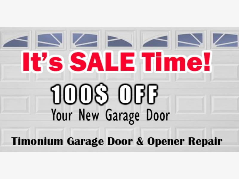 Sale Garage Door Repair Service Towson Md Patch