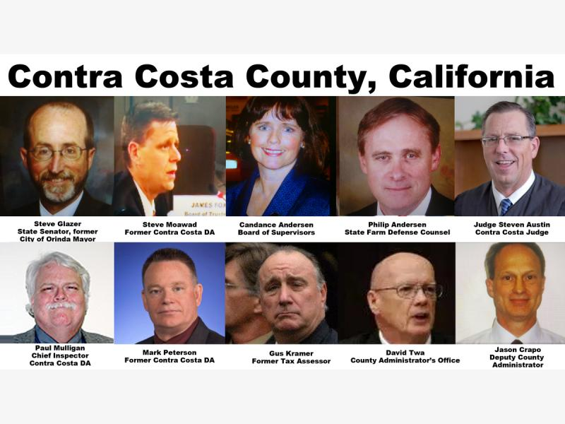 Contra Costa Superior Court Judge Steven Austin Aided Abetted Real