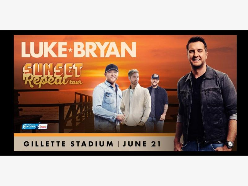 Luke Bryan Concert - Gillette Stadium - Bus Trip from CT - Friday June 21st - Southington, CT Patch