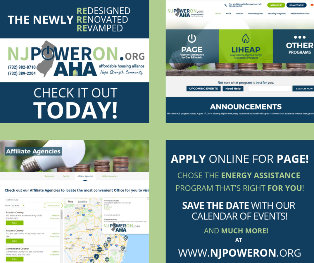 The Affordable Housing Alliance launches revamped NJPowerON org